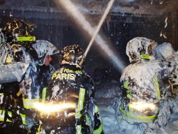 photos pompiers