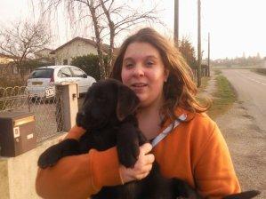MOii et Mon chien!!!