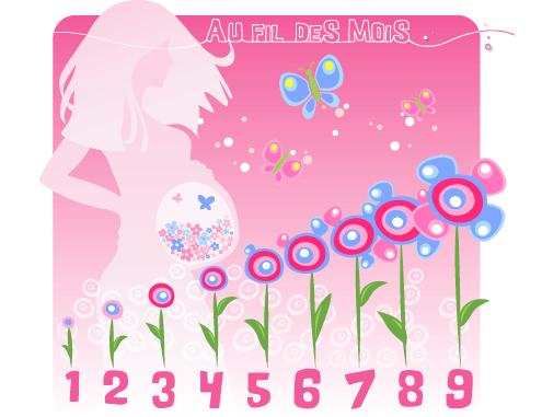Mon calendrier de grossesse