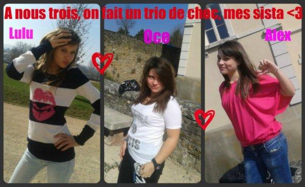 Le trio ♥Les Inséparable!