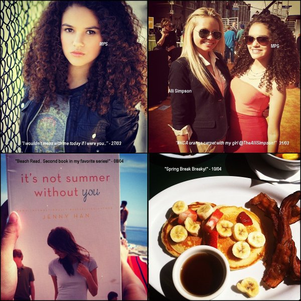 Photos Instagram : Diverses photos Instagram que Madison a récemment postées.