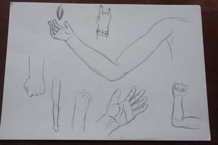 entrainement mains