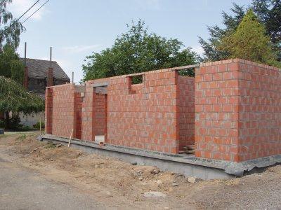 suite chantier maçonnerie blocs 1er étage