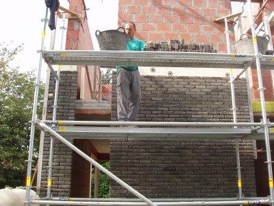 la brique de façade