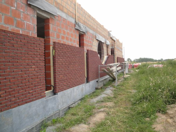 Maçonnerie briques de façades