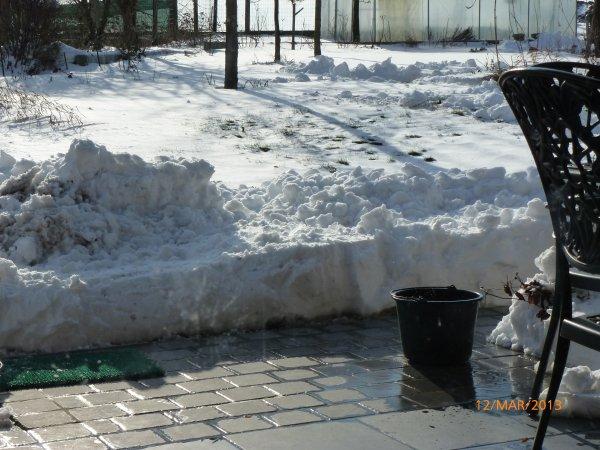 De 40cm à 1mètre de neige