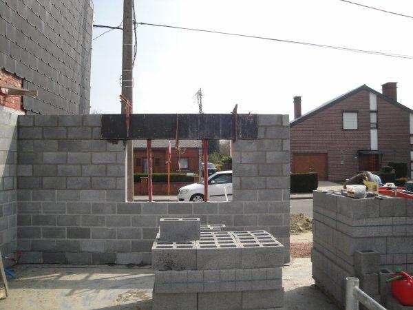 Maçonnerie garage