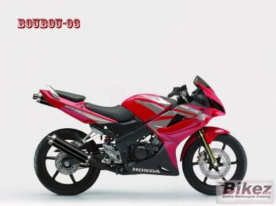 honda cbr 125 twin power blog sur mes virtual tuning moto. Black Bedroom Furniture Sets. Home Design Ideas