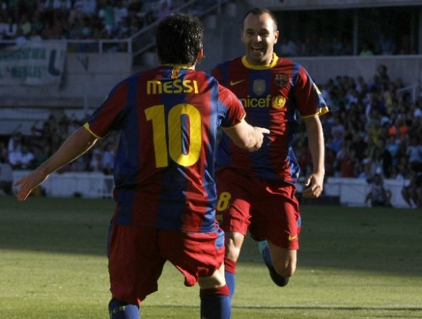 Racing Santander 0-3 Fc Barcelone