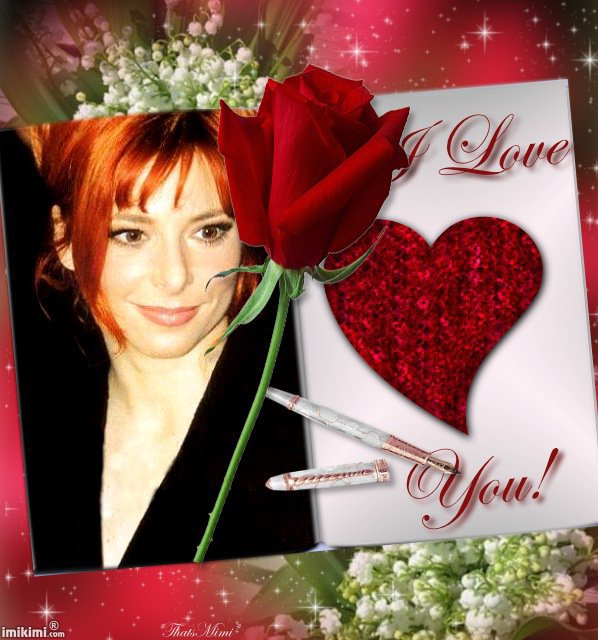 Mylène Farmer I love you