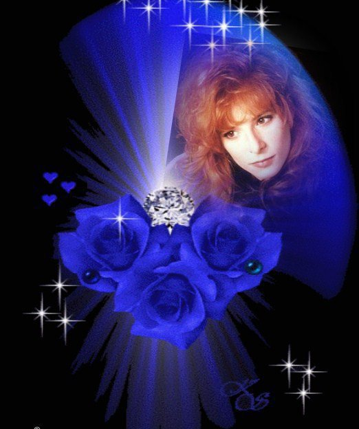 Mylène Rose Bleu