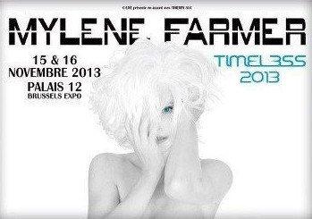 Mylène Farmer Timeless 2013