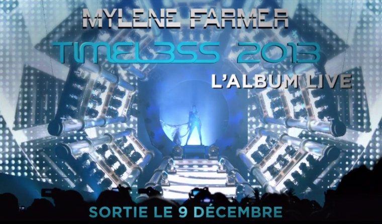Timeless 2013 L'album Live sortie le 9 Décembre