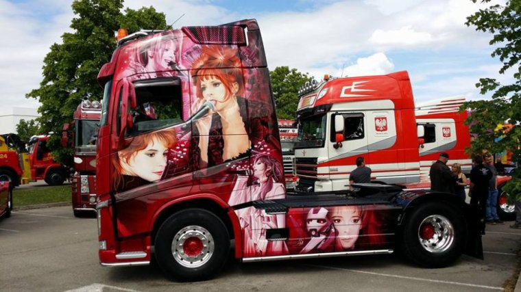 """Le Camion """"MONKEY ME qui était présent à Torvilliers vient de remporter la première place au CASTELLET"""