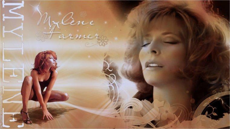 Magnifique montage de Mylène Farmer