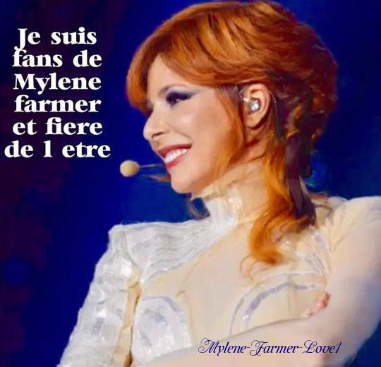 Fan de Mylène Farmer