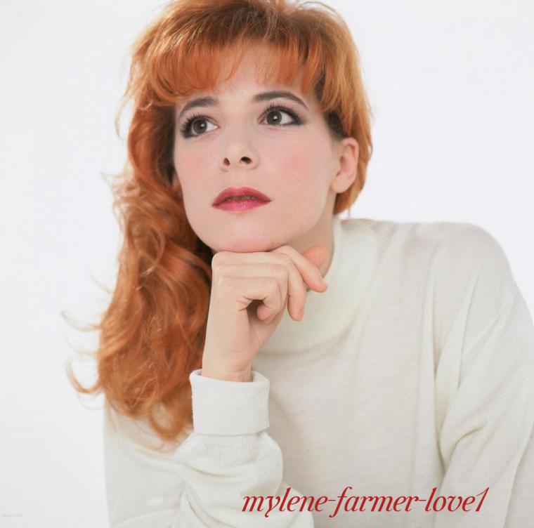 Notre jolie et talentueuse Mylène Farmer.
