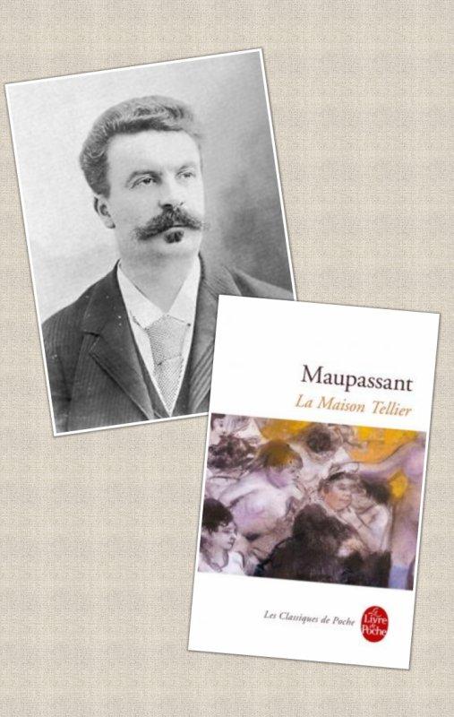 La Maison Tellier, Guy de Maupassant