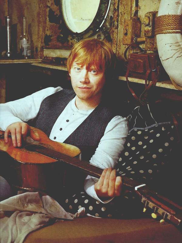Entertainment Weekly's photoshoots + Rupert dans El Hormiguero avec James et Oliver Phelps + Weasley, Weasley, Weasley !