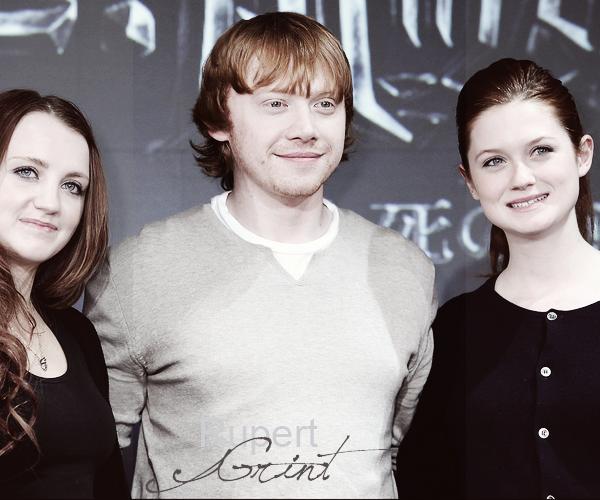 * FACT :  Rupert a peur des araignées et du noir+ Rupert a acheté une maison pour sa famille, après le deuxième Harry Potter. *
