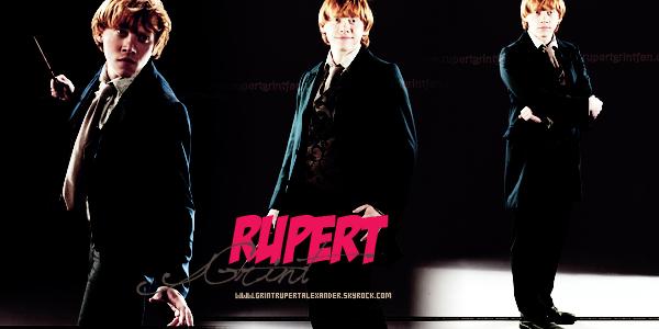 """* QUOTES :  """" Je n'oublierai jamais le moment ou l'on a fait une réplique de mes fesses en plâtre !  """"+ Rupert Grint mesure 1m74.. *"""