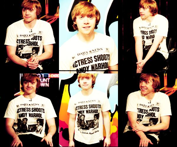 * FACTS : Rupert a obtenue son permis après deux essais+ Rupert aime les bonbons, les hamburgers et les pizzas hawaïenne *