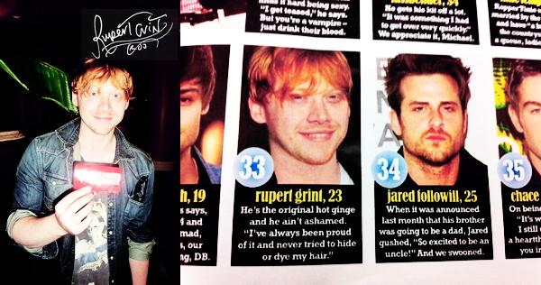 """* QUOTES : """"We the Grints are all huge Harry Potter fans! And of course we love the Weasleys!""""+ Nous, les Grints, nous aimons tous énormément Harry Potter. Et bien sûr, nous aimons les Weasley ! *"""