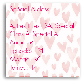 Spécial A class