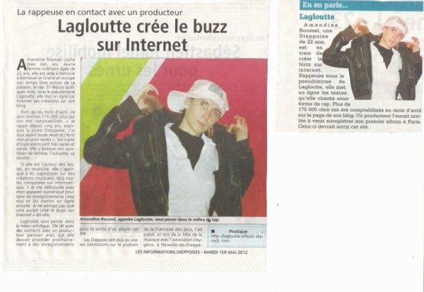 article des infos dieppoises !!!