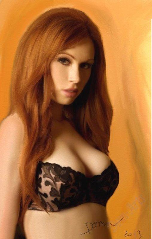 La très sexy Julia !!!!!