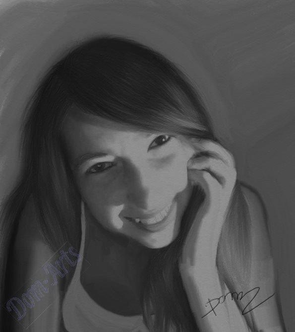 La jolie souriante Morgane  .....