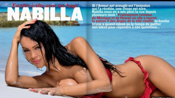 Shooting de Nabilla pour NEWLOOK + interview !