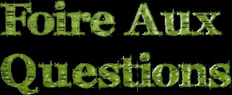 Foire aux questions #2