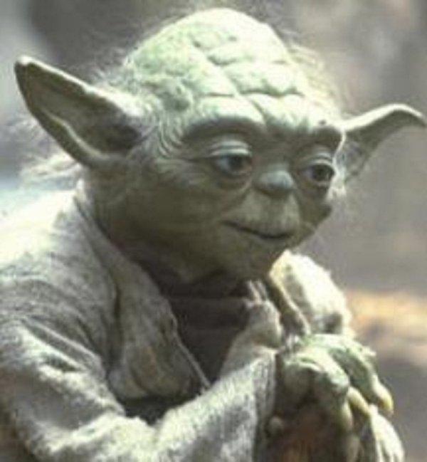 Un Jedi doit avoir l'engagement le plus profond, l'esprit le plus sérieux. Celui-ci depuis très longtemps je l'observe et toute sa vie, il a regardé vers l'avenir, vers l'horizon. Jamais l'esprit là où il était, l'instant présent