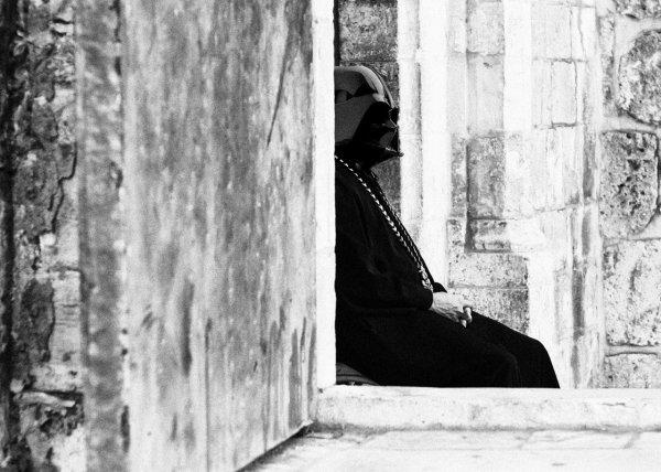 Dark Vador en Palestine