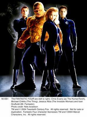 Jessica alba les 4 fantastiques 2004 susan storm la - Femme invisible 4 fantastiques ...