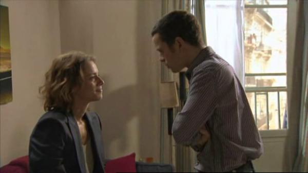 Rudy avoue a Eve que si il a ete mis en garde a vue c'est parce qu'il a ete soupçonner du meurtre de Picmal   ( EPISODE 1709 - 29/04/2011 )