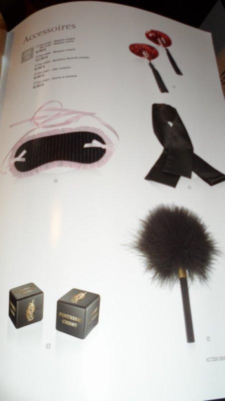 accessoire noirs