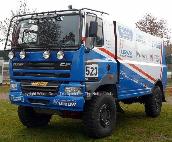 Dakar 2012 Preproloog Valkenswaard DAF CF Leeuw Eindhoven, The Netherlands