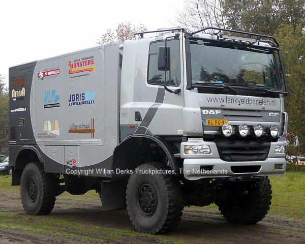 Dakar 2012 Preproloog Valkenswaard DAF CF Van Lankveld Mariahout, The Netherlands