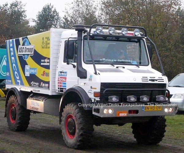 Dakar 2012 Preproloog Valkenswaard Mercedes Unimog Offringa, The Netherlands