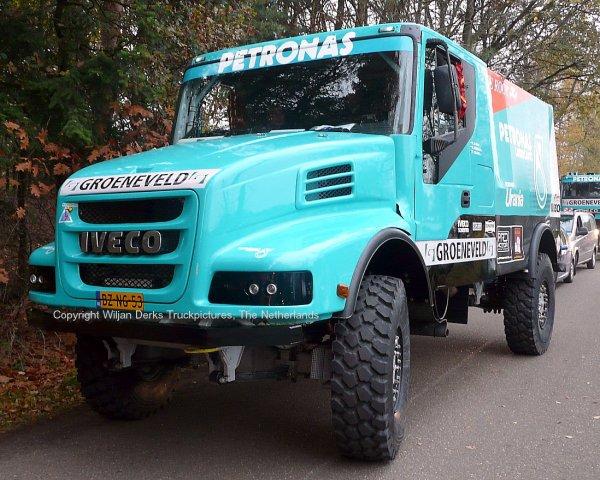 Dakar 2012 Preproloog Valkenswaard Iveco Strator Gerard de Rooij, The Netherlands