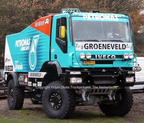 Dakar 2012 Preproloog Valkenswaard Iveco Hans Stacey, Best, The Netherlands