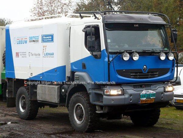 Dakar 2012 Preproloog Valkenswaard Renault Leeuw Eindhoven, The Netherlands