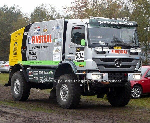 Dakar 2012 Preproloog Valkenswaard Mercedes Axor Johan Elfrink, The Netherlands