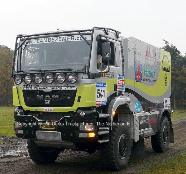 Dakar 2012 Preproloog Valkenswaard MAN Bezemer, Belgium
