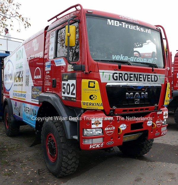 Dakar 2012 Preproloog Valkenswaard MAN Marcel van Vliet, The Netherlands