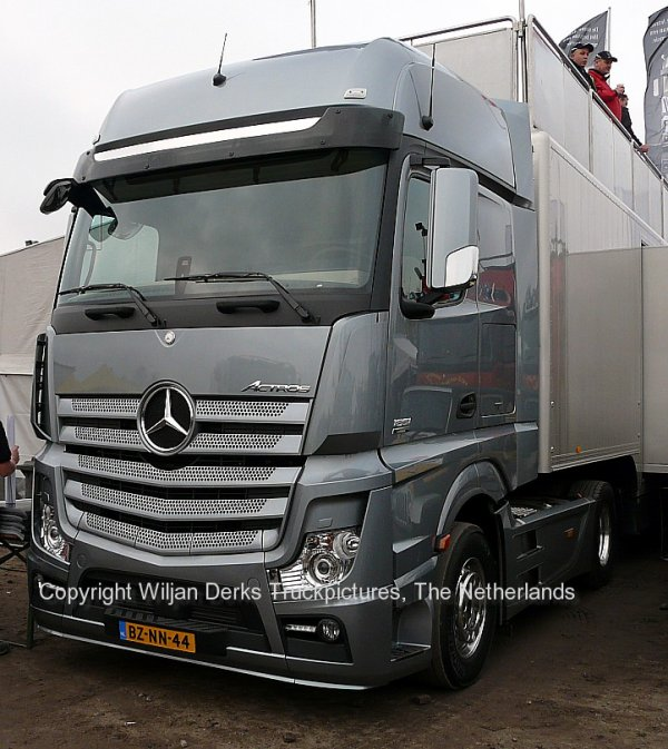 Dakar 2012 Preproloog Valkenswaard Mercedes Actros 1851 Model 2011, The Netherlands
