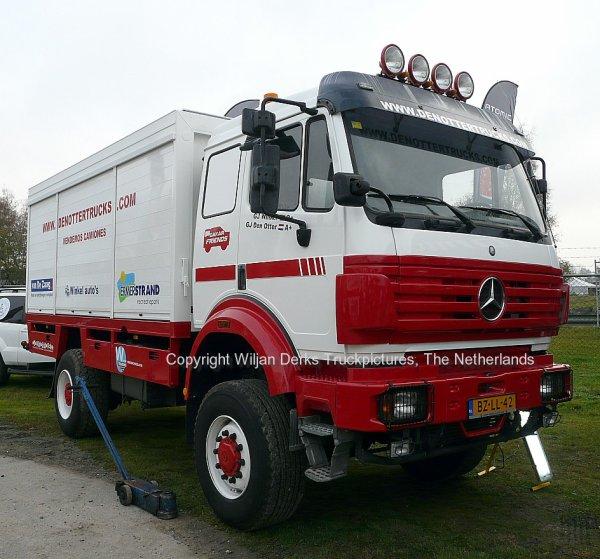 Dakar 2012 Preproloog Valkenswaard Mercedes Servicetruck Den Otter, The Netherlands