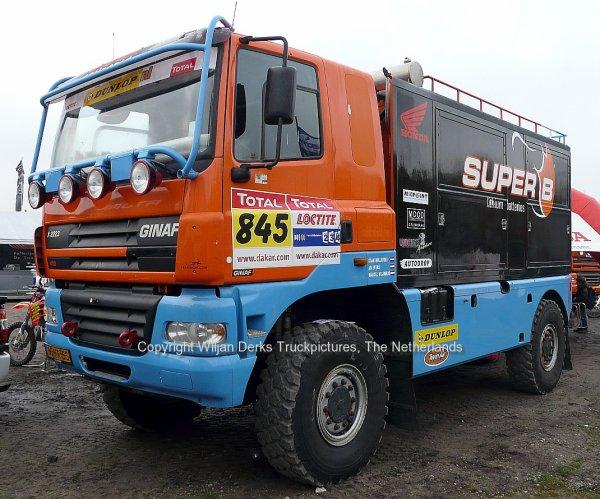 Dakar 2012 Preproloog Valkenswaard GINAF X2223 Dollevoet, The Netherlands